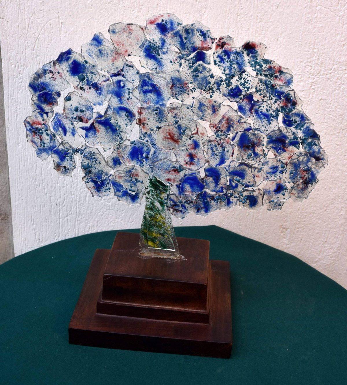 Árbol Azul de Murano